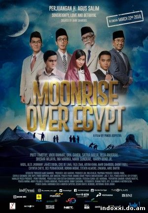Moonrise Over Egypt (2018)